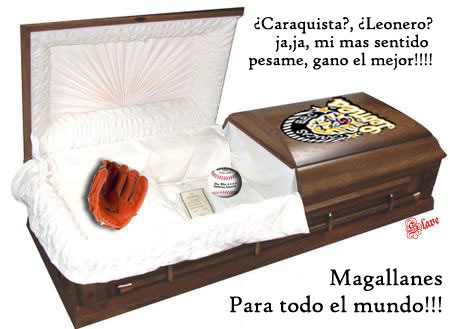 Leones del Caracas-Eliminacion Magallanes (Eye Of The